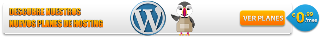 Oferta Hosting Wordpress y Prestashop